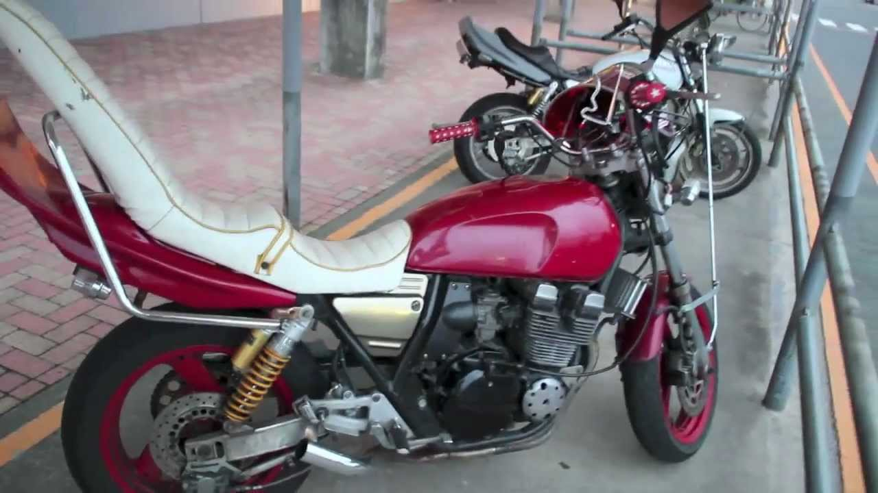 ?????? Japanese Motorcycle Gang Bike Up Close Quick Japan 9