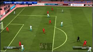 FIFA 13 : OM vs Inter de Milan  ( Defthunder - Mega-Games-Le-Blog.com )