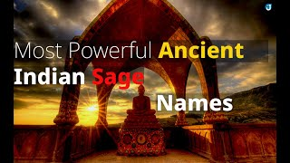 Baby Names Inspired by great Sages-Rishi's of Bharat - 70 Hindu and Vedic baby names - jothishi.com
