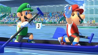 All Characters Canoe - Mario & Sonic at the Tokyo 2020 Olympic Games | MarioFootball GM