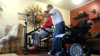 Quadriplegic Standing Frame