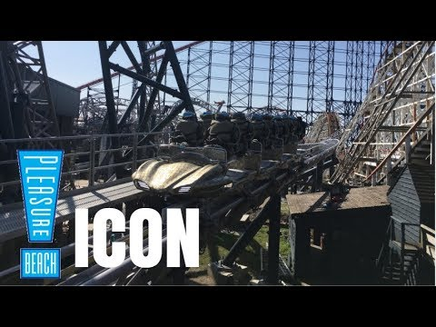 Blackpool Pleasure Beach Icon Construction Update - 21st April 2018