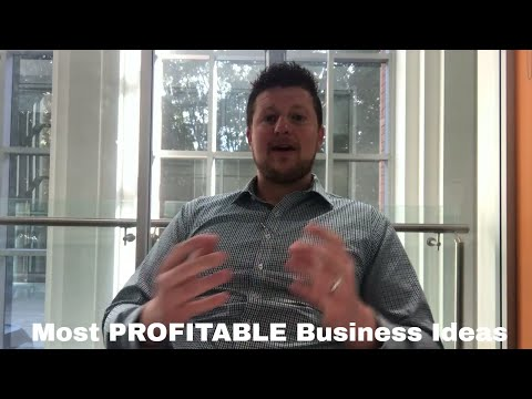 3 Of The Most Profitable Small Businesses - All Can Be Started As A Side Business