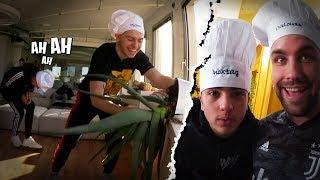 Les Coulisses de Top Chef d'Inoxtag, encore une journée de dingue avec la Team Croûton !