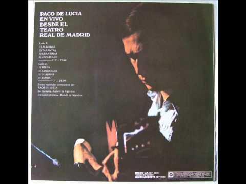 Paco de Lucía en vivo desde el Teatro Real 1975 (Rumba)