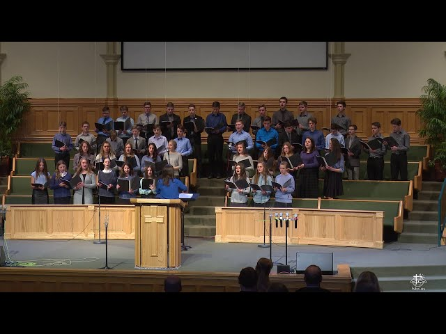 Колени Я Склоняю- FSBC Teen Choir