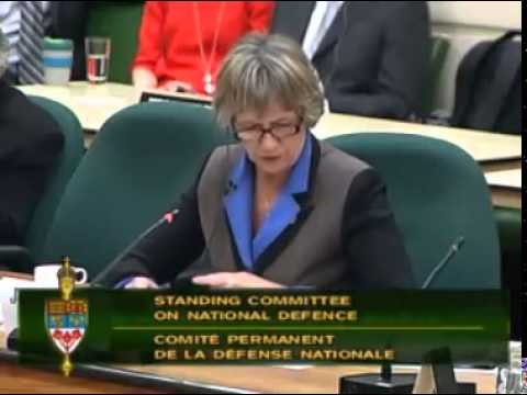 Joyce Murray questions the Deputy Minister about Defence spending
