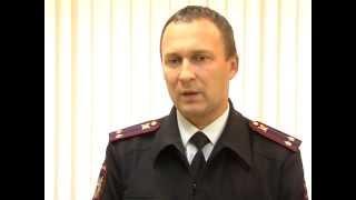 Выступление начальника ЦЛРР УМВД России по Ярославской области Александра Белова