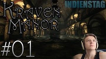 FREE HORROR INDIE GAME! :] - Kraven Manor #1 | INDIENSTAG (+DOWNLOAD) [HD|GERMAN|CAM]