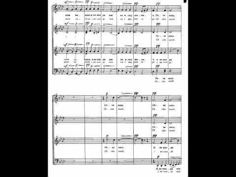 Rachmaninov - Liturgy Op. 31-14 The Lord's prayer