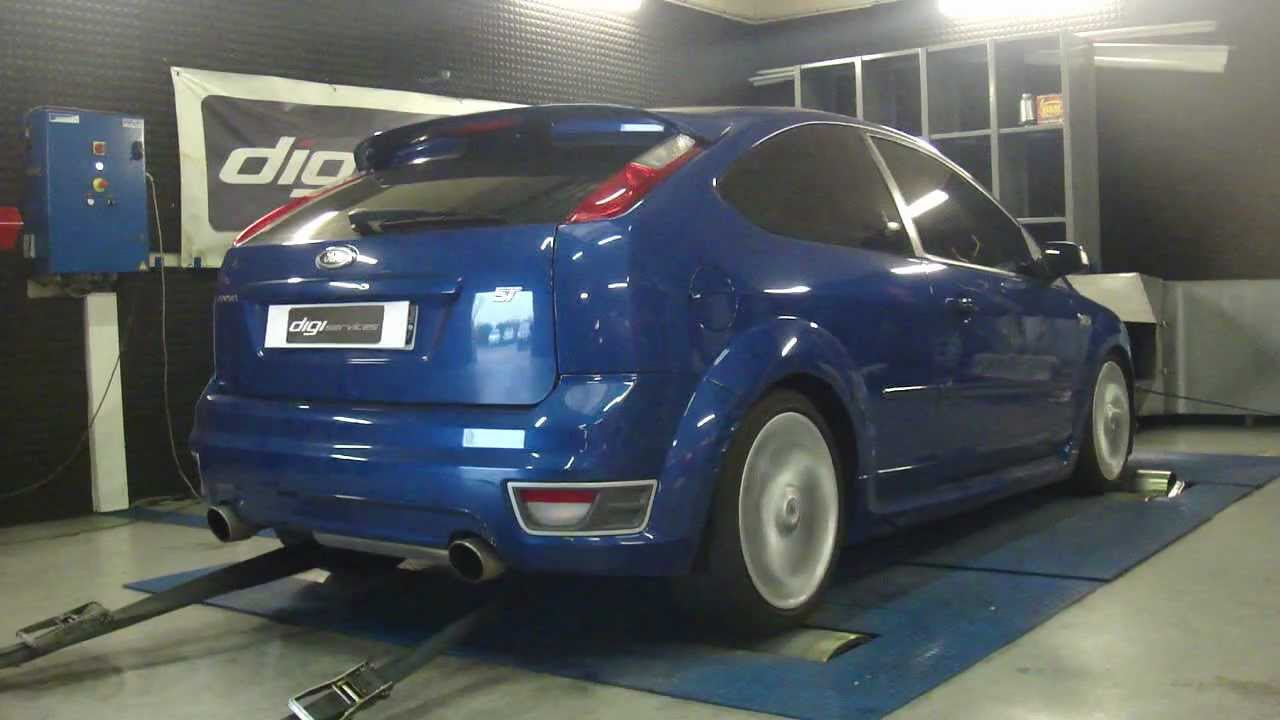 reprogrammation moteur ford focus st 225 stage 2 293cv dyno digiservices paris youtube. Black Bedroom Furniture Sets. Home Design Ideas