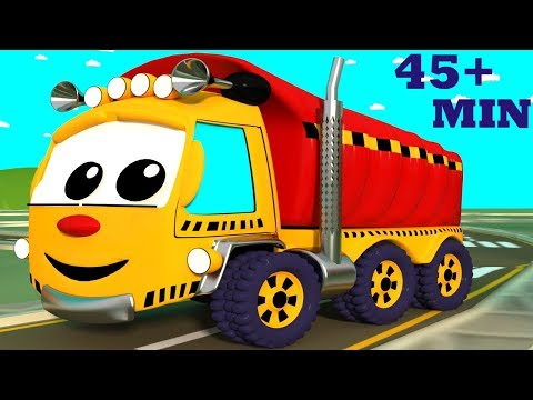 Rhymes Compilation with The Wheels on the Truck  Shapes Train  ABC Song &  Other Preschool Rhymes
