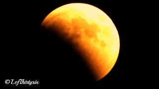 [HD] Blood Moon, total lunar Eclipse - 27th July 2018