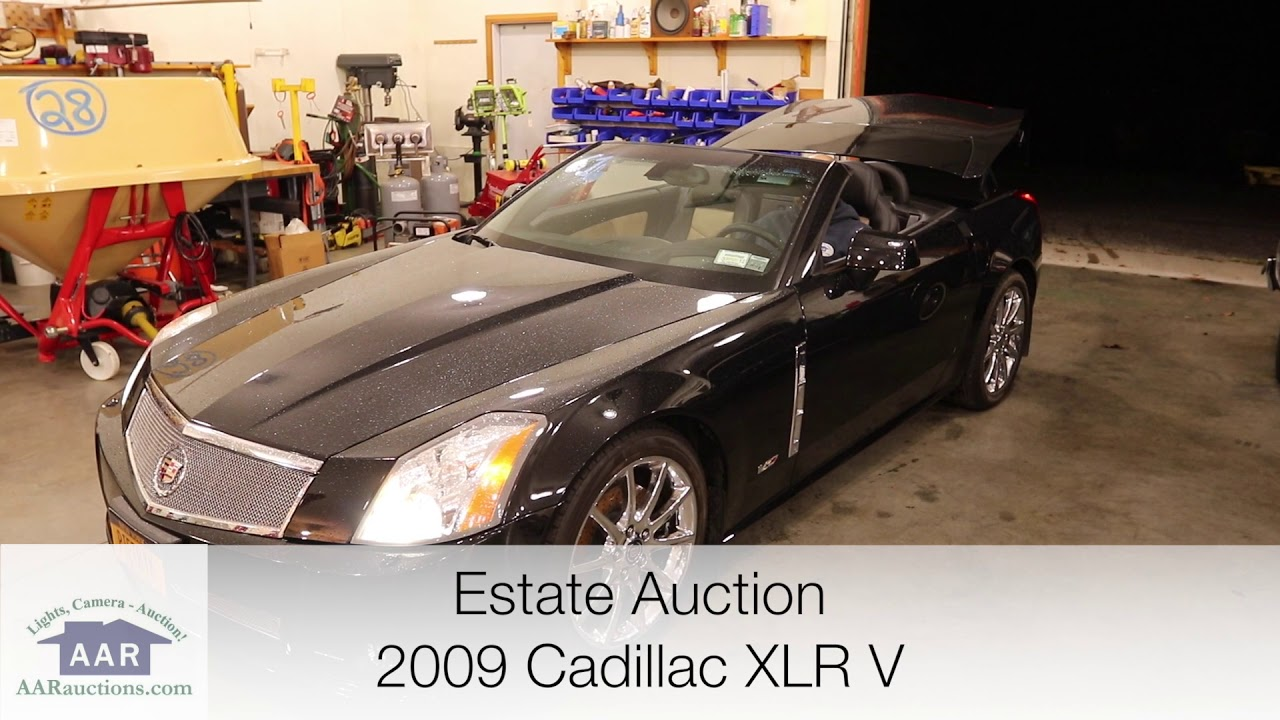 2009 Cadillac Xlr V Hard Top Convertible For Sale Youtube