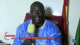 Aff.Boubacar SEYE: Sokhna Fatou CISSE reçoit Souleymane A. Diallo Président de l'Ass. OTRA AFRICA.