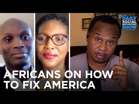African Scholars Suggest How to Fix American Democracy | The Daily Social Distancing Show