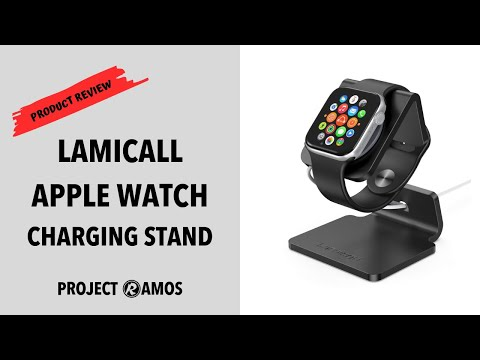 LAMICALL APPLE WATCH CHARGING STAND REVIEW