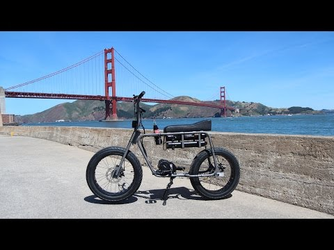 Scenic First Ride on Lithium Cycles /// Super 73 Adventure (Dual Battery Version) Electric Motorbike