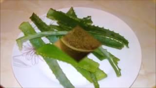 видео Народные рецепты — алоэ с медом от кашля