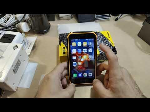 Распаковка Ulefone Armor X7 Pro Android10 Ip68 NFC 4G LTE 2,4G/5G WLAN