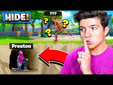 THE BEST HIDING SPOT in Fortnite PLAYGROUND v2 MODE! - Battle Royale HIDE & SEEK Gamemode!