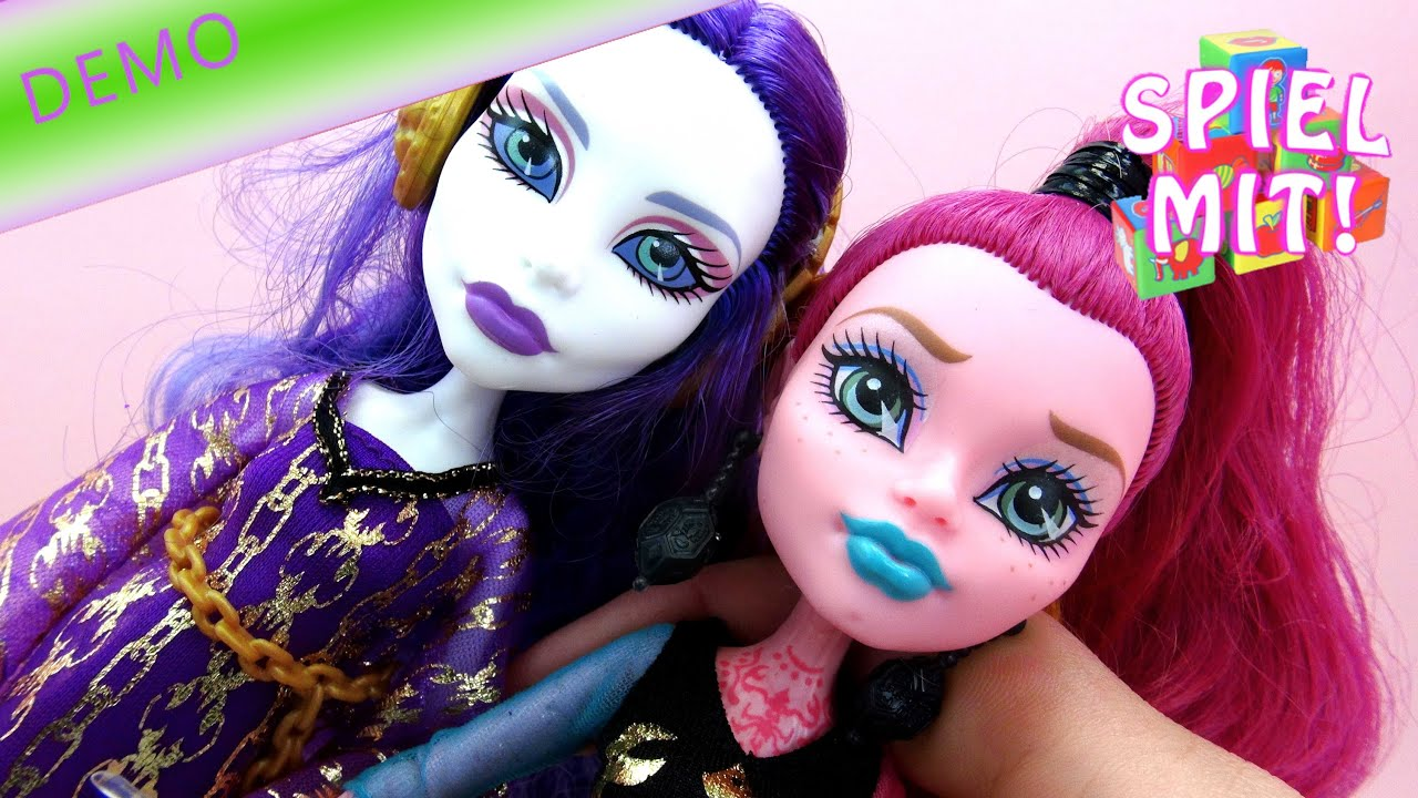 monster high spiele und videos