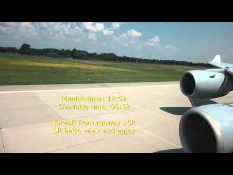 Lufthansa German/Munich-Charlotte/A340-600/Business Class/JUL 2014