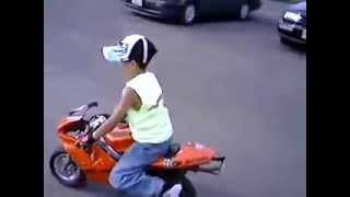 dhoom machale bike scene by baby boy