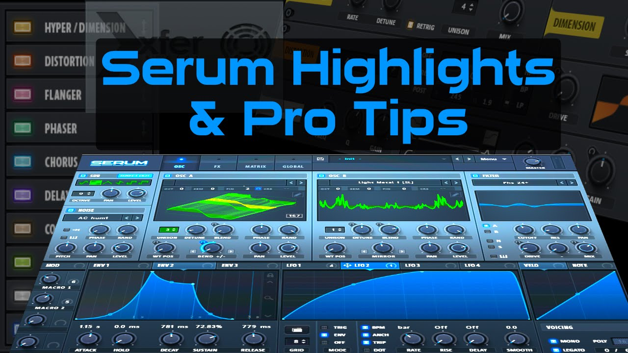 Serum Synth Tutorial: Highlights & Pro Tips