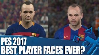 PES 2017 - The Best Player Likenesses Ever?