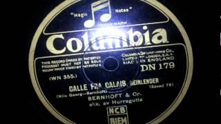 Bias Bernhoft & Co. Akk: Hurragutta - Calle fra Calaise 78 rpm 1931