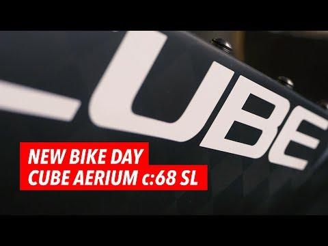 Mein neues Triathlon Rad: Cube Aerium C:68 SL