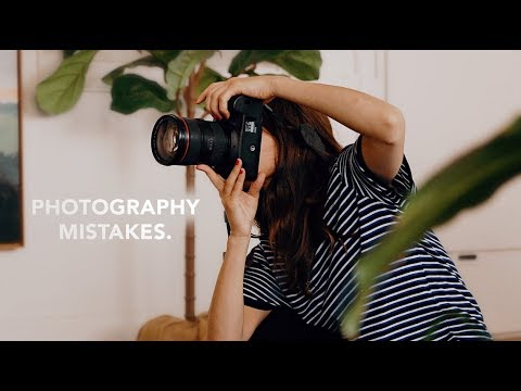 photography mistakes you don't even know you're making