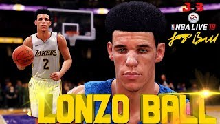 NBA LIVE 18 | LAKERNATION FRANCHISE THE LONZO BALL DUNK FEST!!! WE BACK FACE-CAM GAMEPLAY