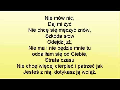 Patty Zabiles Te Milosc Niema Nas Tekst Youtube