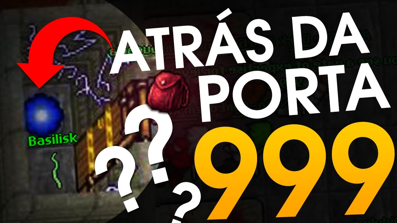 Atr S Da Porta De Level 999 O Que Eu Acho Tibia Youtube