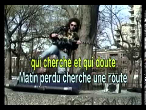 Karaoke Fr - Jj Goldman - Encore Un Matin