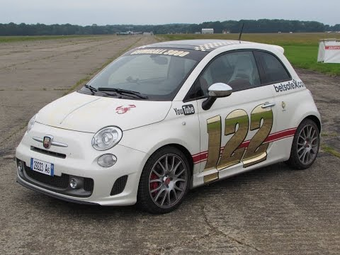 2014 Fiat Abarth 595 50th Anniversario Start Up, Road Test, and In Depth Review