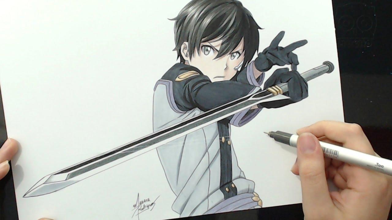 Sword Art Online Kirito Draw Wiring Diagrams Corolla8082electricalwiring001jpg Related Images
