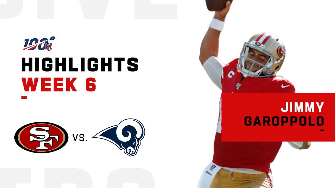 Jimmy Garoppolo Keeps The 49ers Undefeated 2019 Nfl Highlights