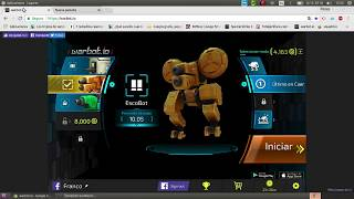 Jugando a Warbot.io