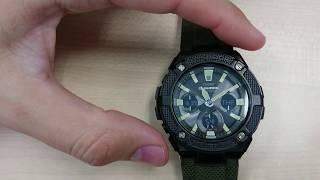 Review G-Shock CASIO GST S130 BC 5516 - with Solar power and dual back light LED