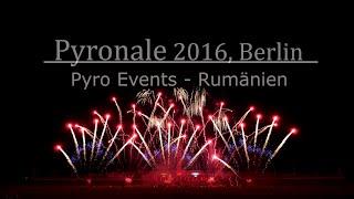 Pyronale 2016 - Pyro Events Rumänien / Romania (Winner) | Firework Show | 4K UltraHD