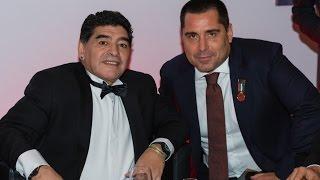 Riccardo Silva at Globe Soccer Awards in Dubai