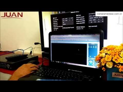 Cách lấy ID đầu ghi hình Juan xem qua mạng