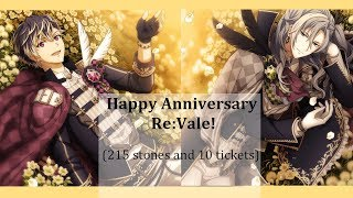 Idolish7 Scouting: Happy Anniversary Re:vale! (215 stones + 10 tickets)