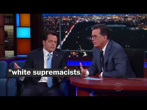 Four takeaways from Anthony Scaramucci's interview with Stephen Colbert