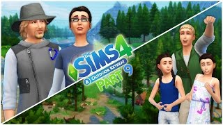 Let's Play the Sims 4 Outdoor Retreat (Part 9) Messing Around