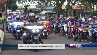 NET. JATIM - ARAK-ARAKAN AREMA JUARA TORABIKA BHAYANGKARA CUP 2016