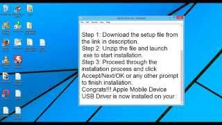 Apple Mobile Device USB Driver Download| Windows | Latest Version